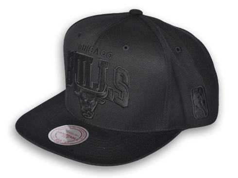 Chicago Bulls Black on Black